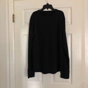 Lululemon black pullover running top